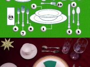 Is festive table ready? - Table setting