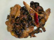 Lamb with olives