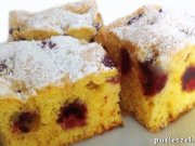 Cake with sour cherries I