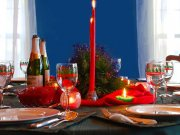 Is festive table ready? - Serving